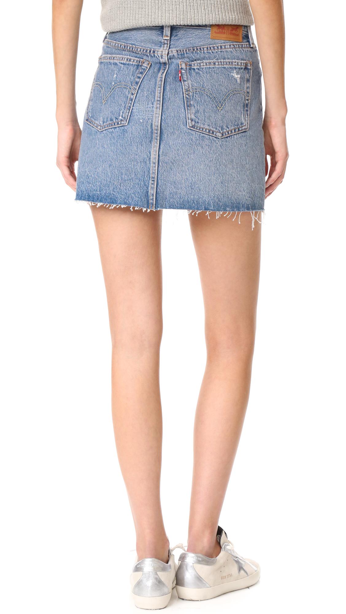 02c12c3862 Levi s Deconstructed Skirt
