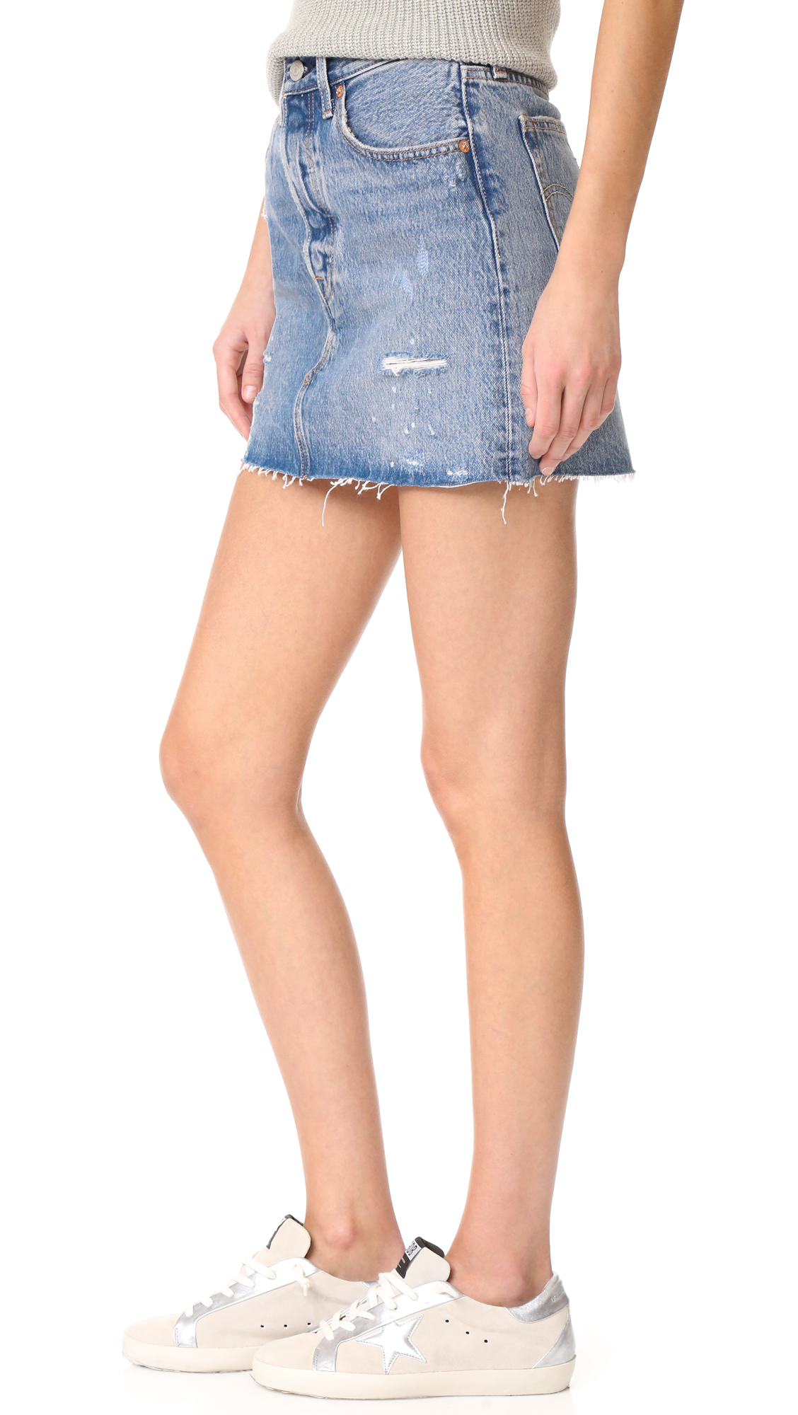 Levi's Deconstructed Skirt | SHOPBOP