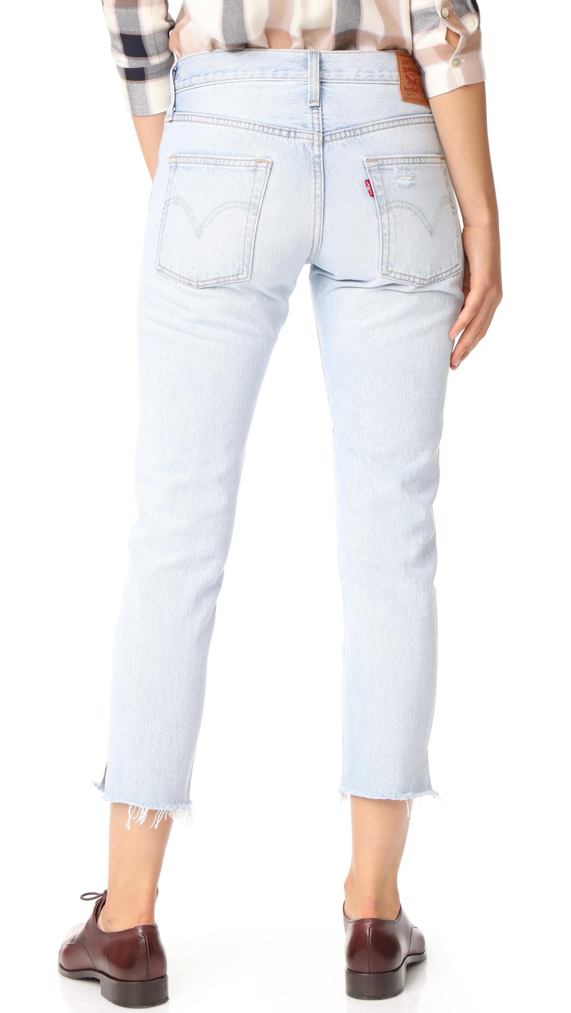 15df46b3 Levi's 501 Cropped Taper Jeans | SHOPBOP