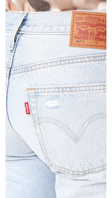Levi's 501 Cropped Taper Jeans
