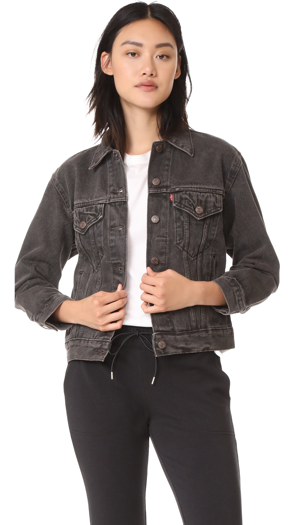Levis Ex Boyfriend Trucker Jacket - Berlin Night