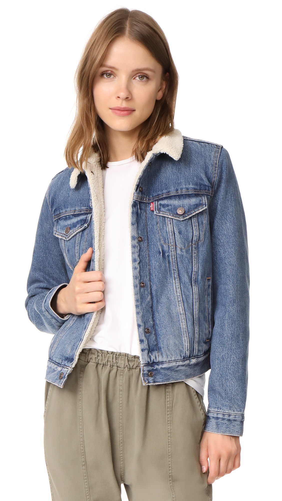 Levis Original Sherpa Trucker Jacket - Extremely Lovable