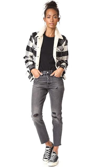 Levi's Wool Boyfriend Trucker Jacket