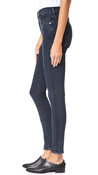 Levi 39 s made crafted spliced sliver high skinny jeans in for Levis made and crafted review