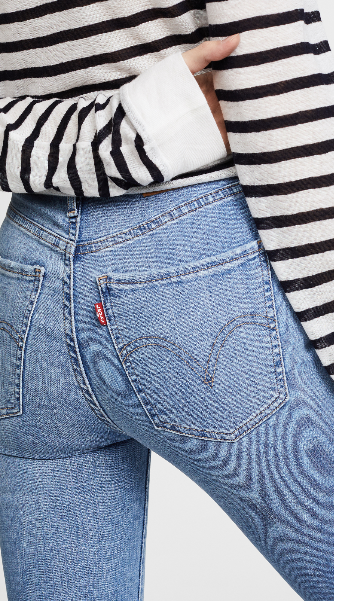 top quality stable quality attractive style Mile High Super Skinny Jeans