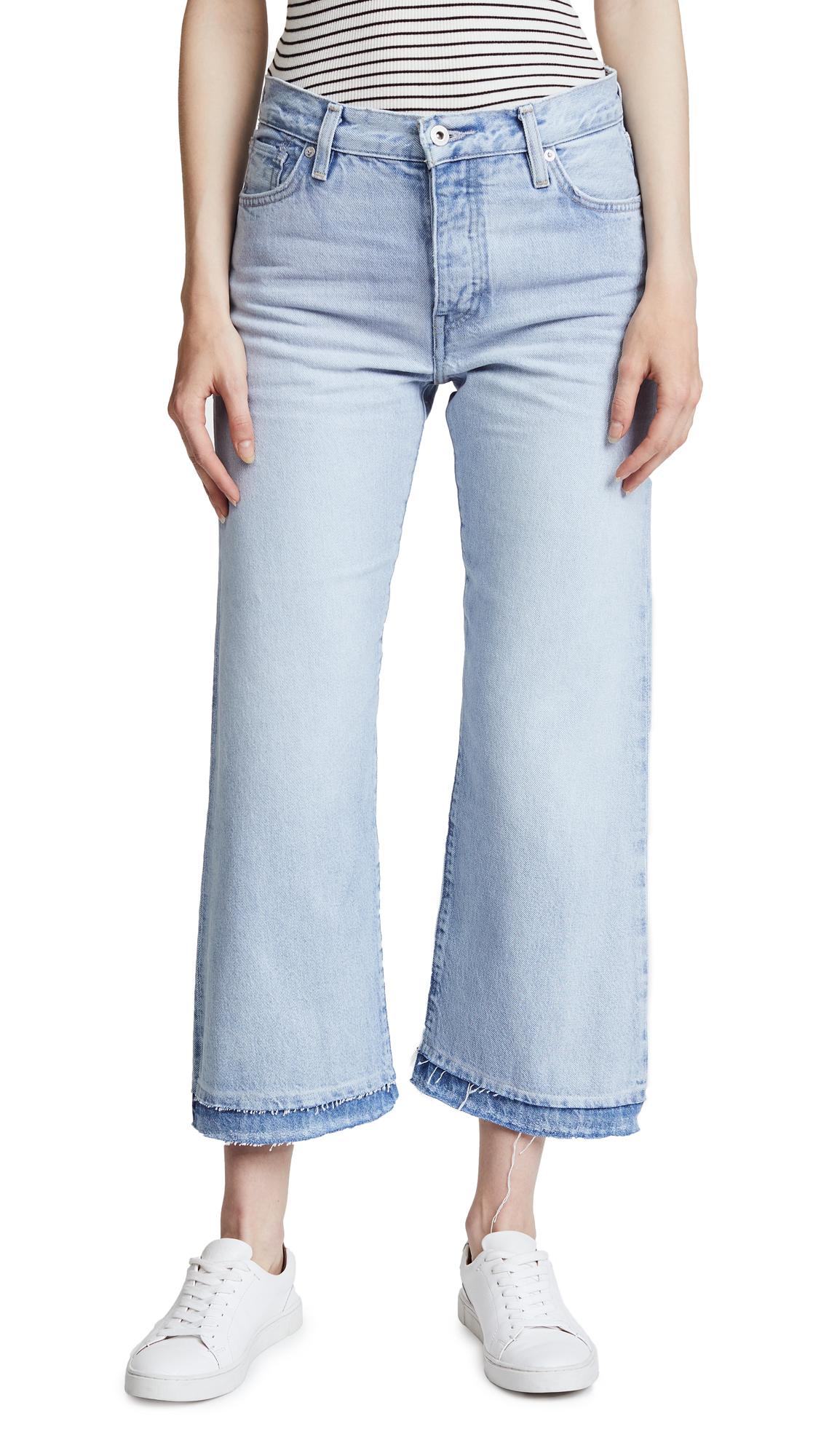 Levis LMC x SHOPBOP Splice Flare Jeans - Blue Paradise Blue