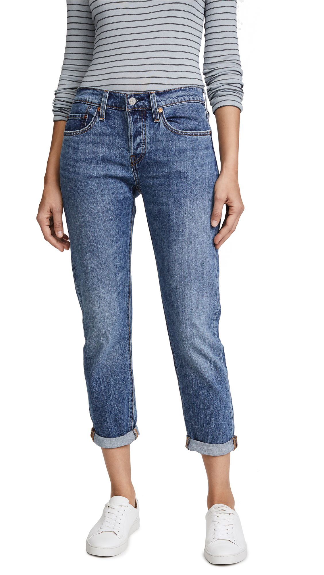 Levis 501 Taper Jeans - On My Side