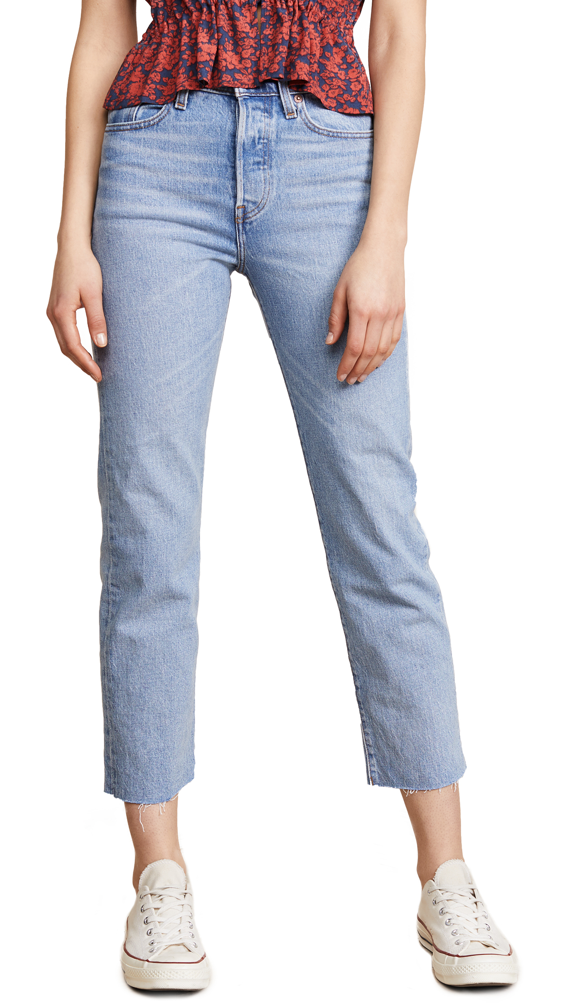 Levis Wedgie Straight Jeans - Clouded Consciousness
