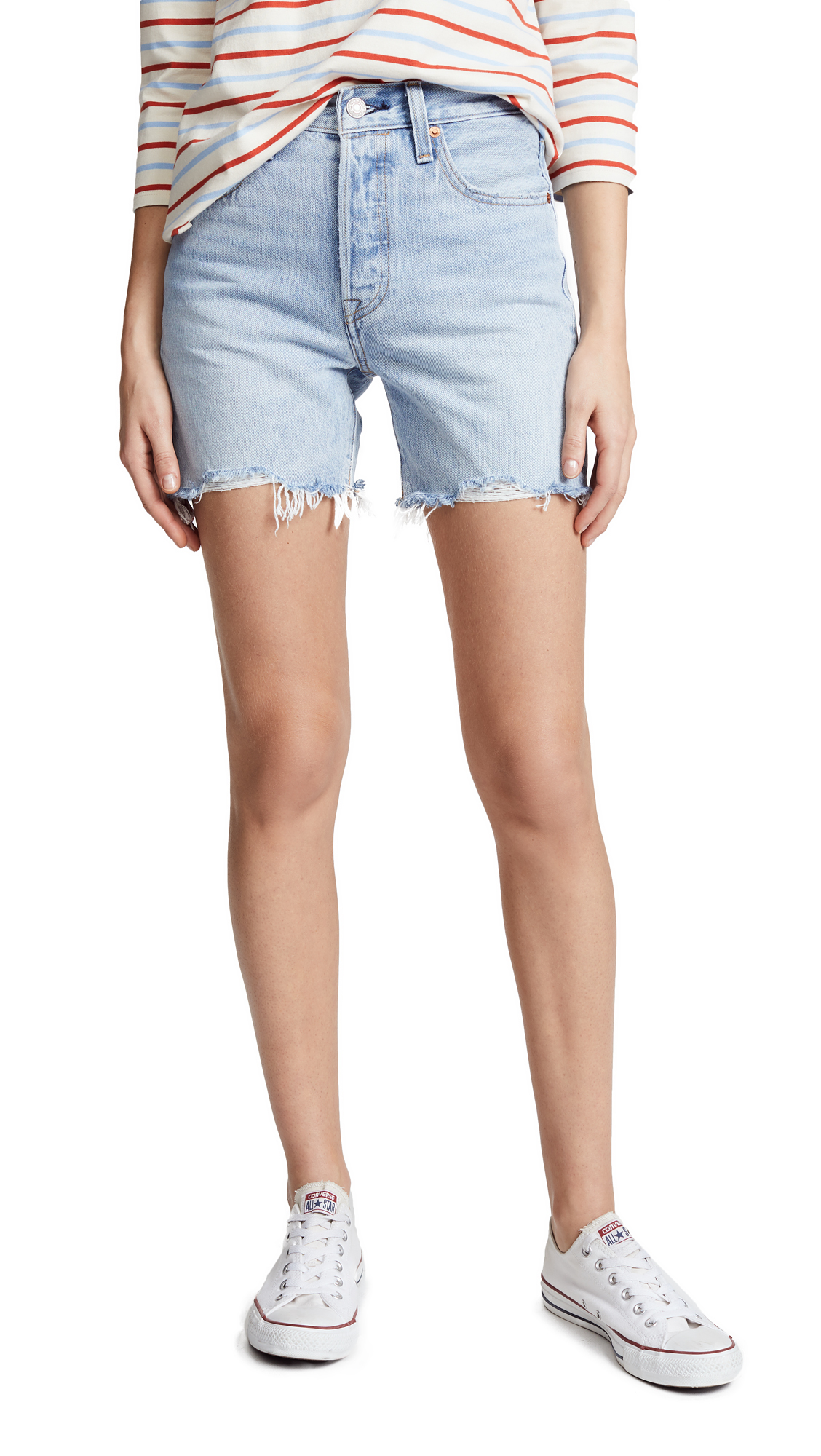 Levi's Indie Shorts In Clean Break