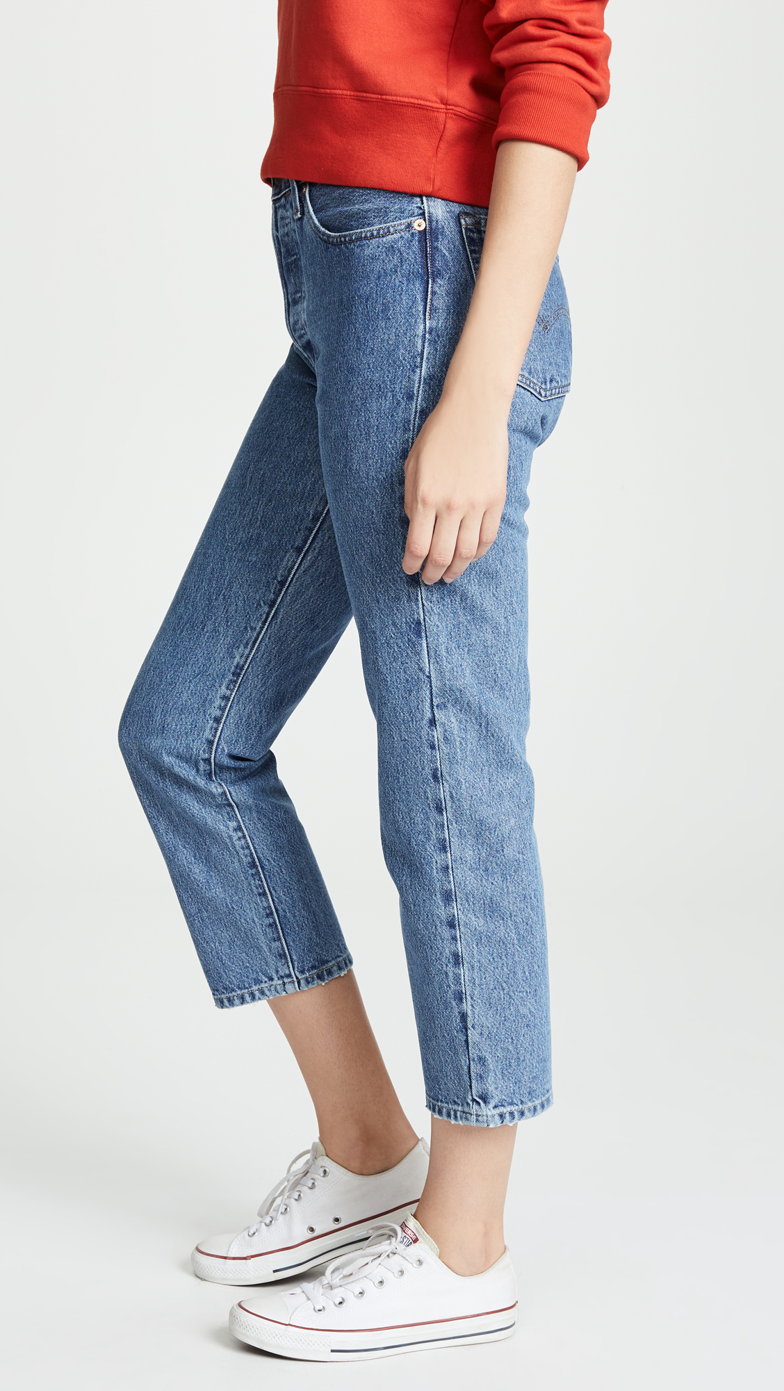 579a9532eb Levi s Made   Crafted 501 Crop Jeans