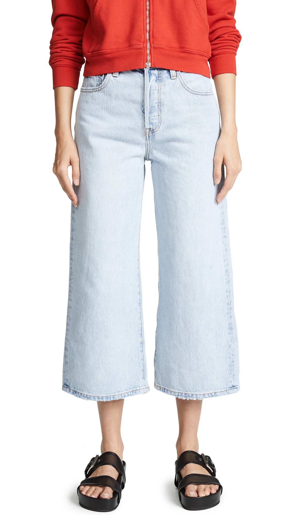 Levi's High Water Wide Leg Jeans In Throwing Shade