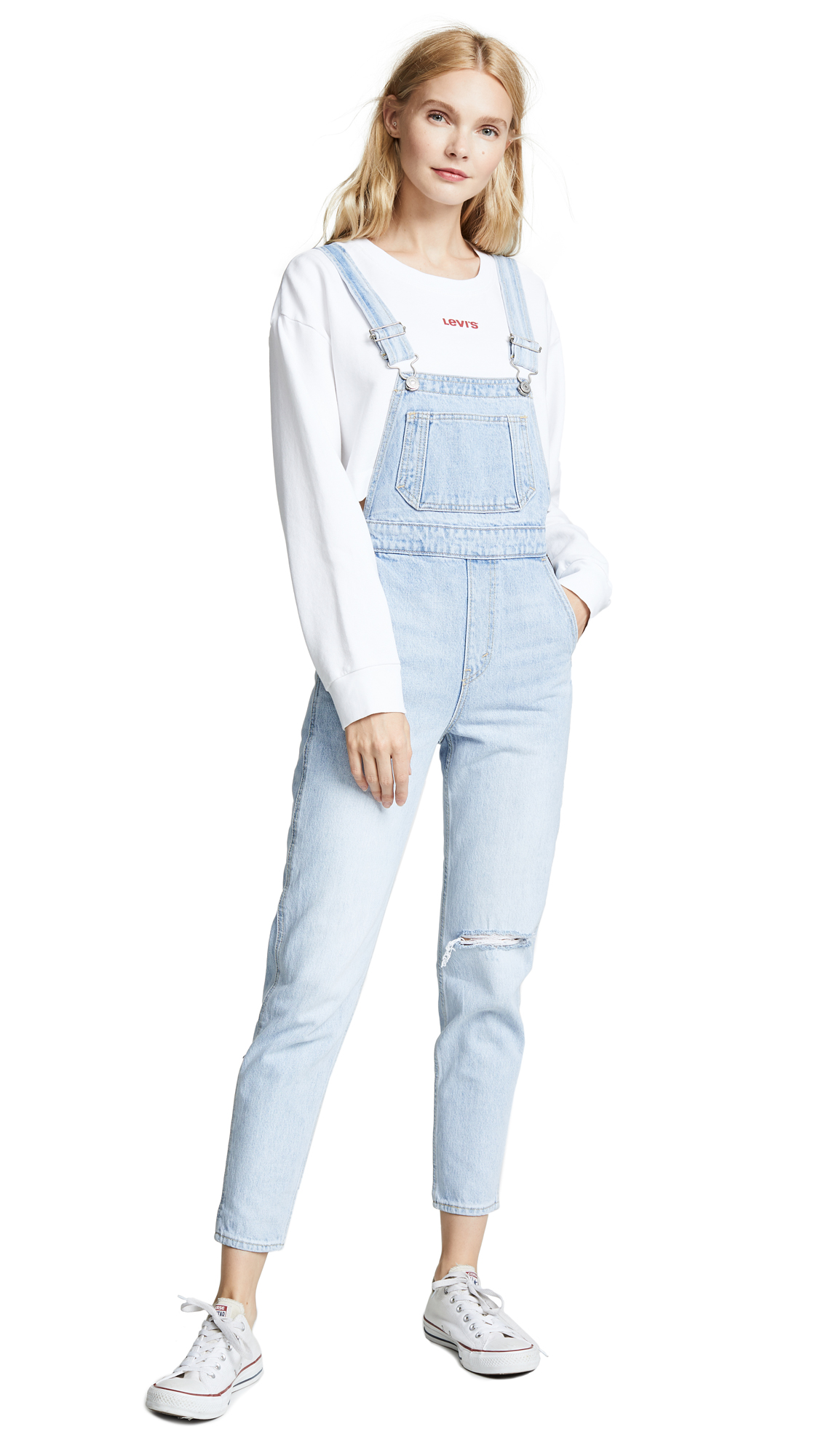 Levi's Mom Overalls In Donna Martin