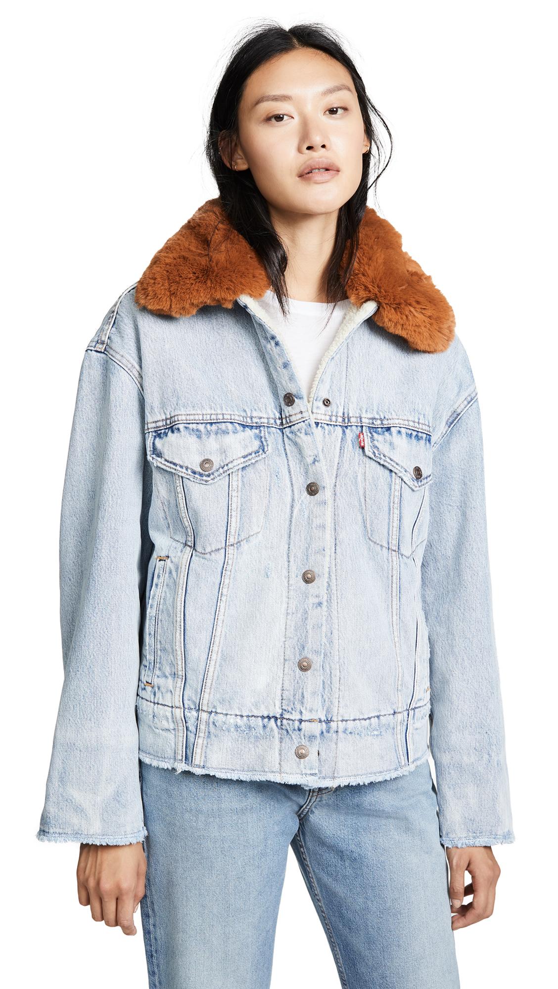 Levi's Oversized Sherpa Jacket