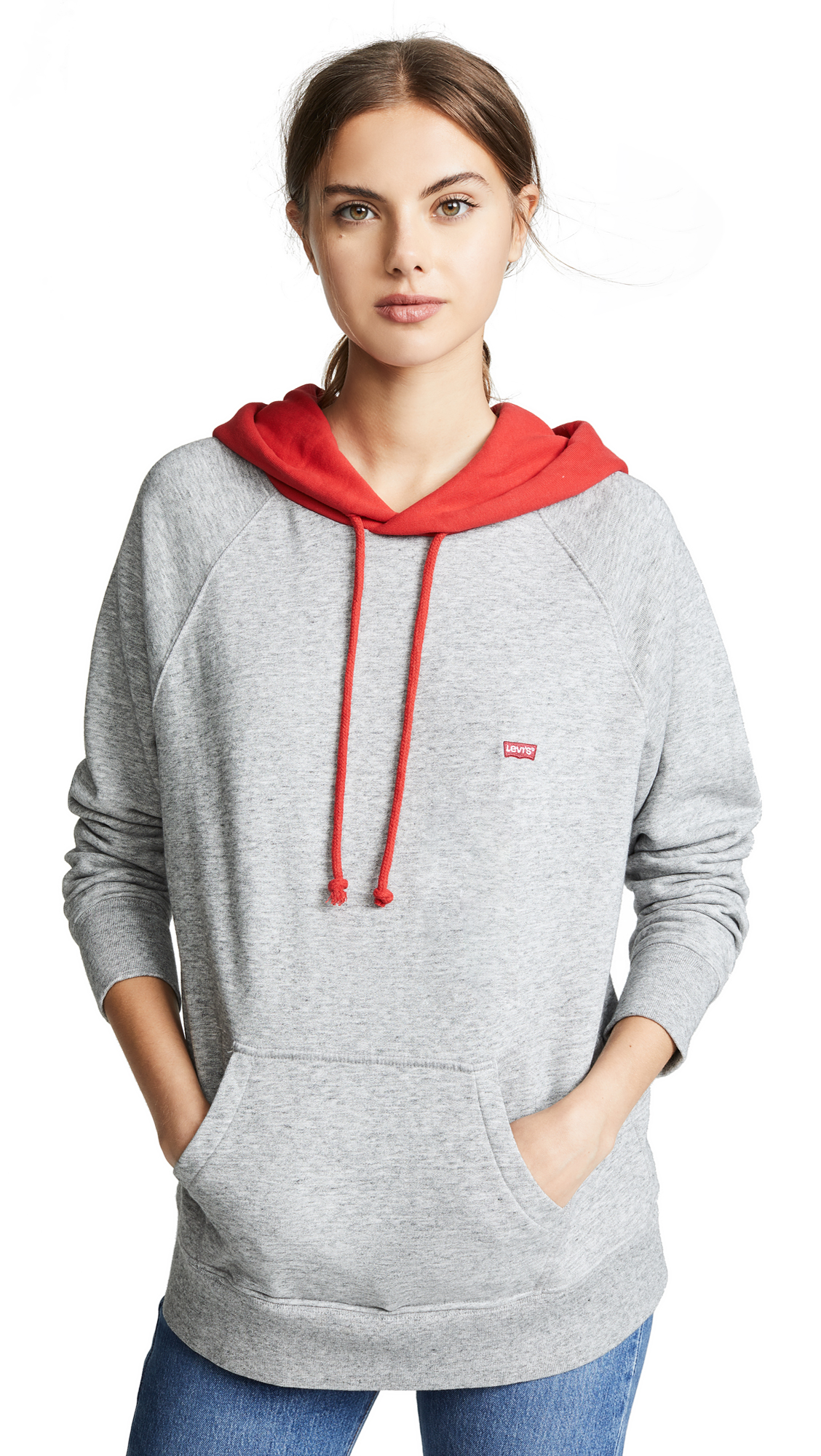 Levi's Sportswear Hoodie In Smokestack Heather