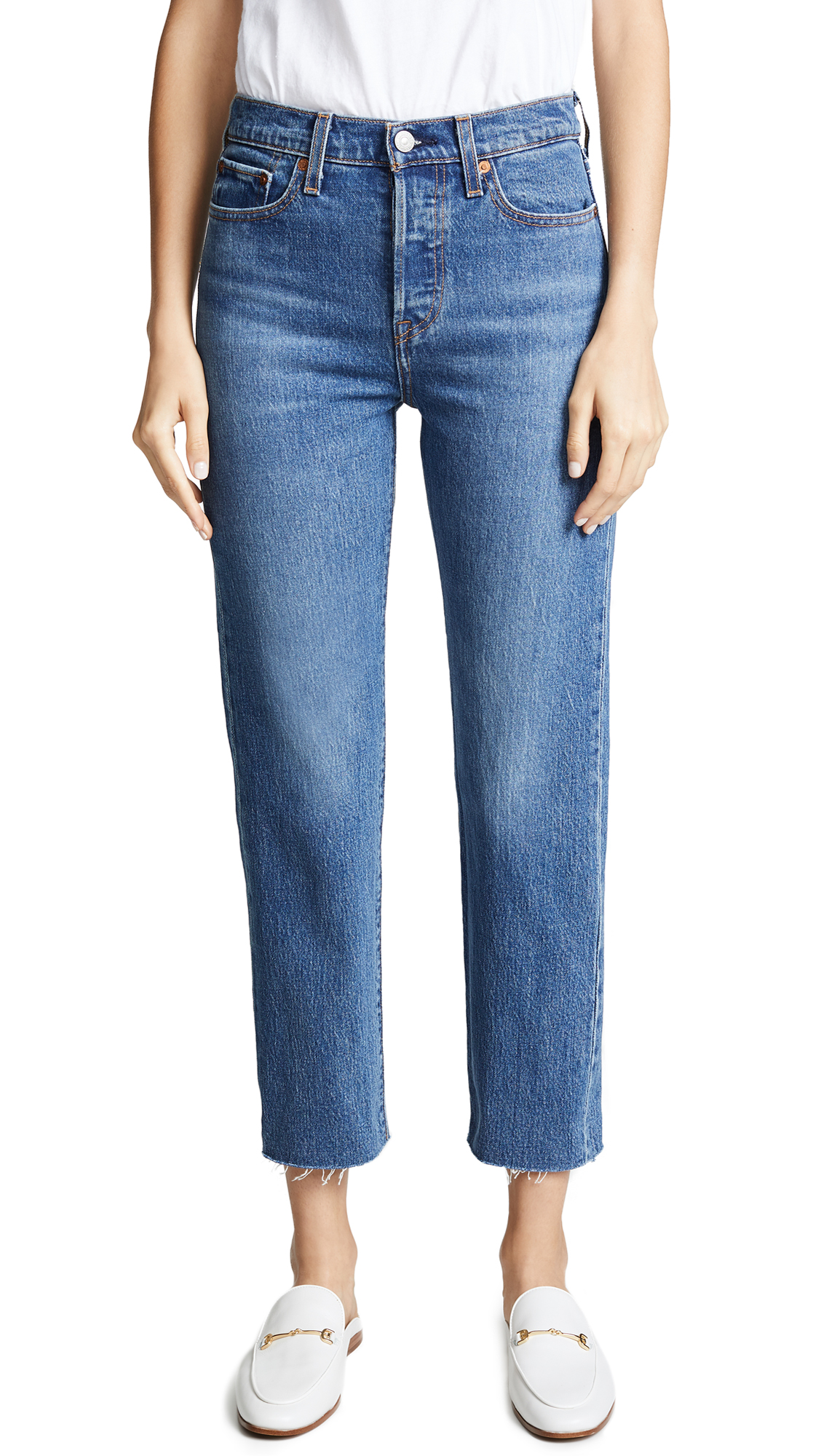 Wedgie Straight Jeans, Love Triangle