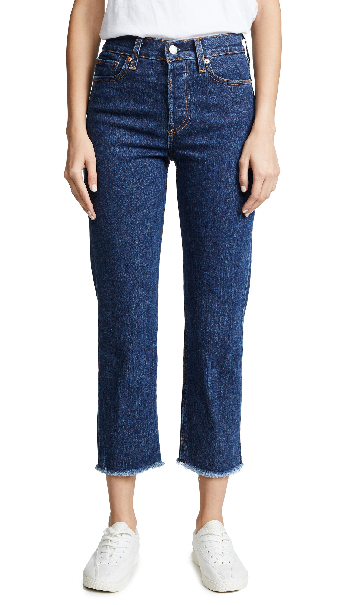 The Wedgie Straight Jeans, Below The Belt