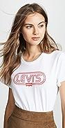 Levi's The Perfect Ski 徽标 T 恤