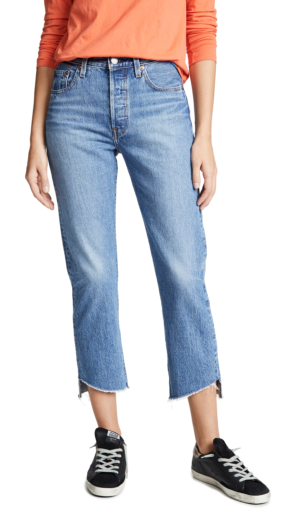 Levis 501 Crop Jeans - Call Me Crazy
