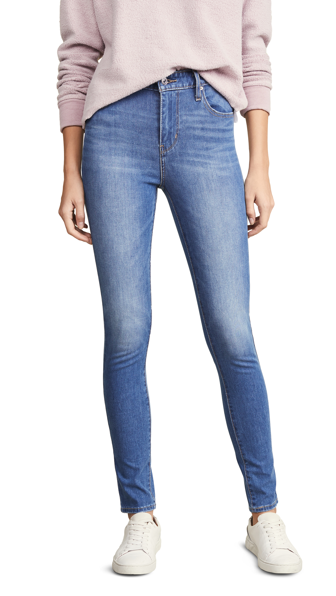 Levis 721 High Rise Skinny Jeans - Lol