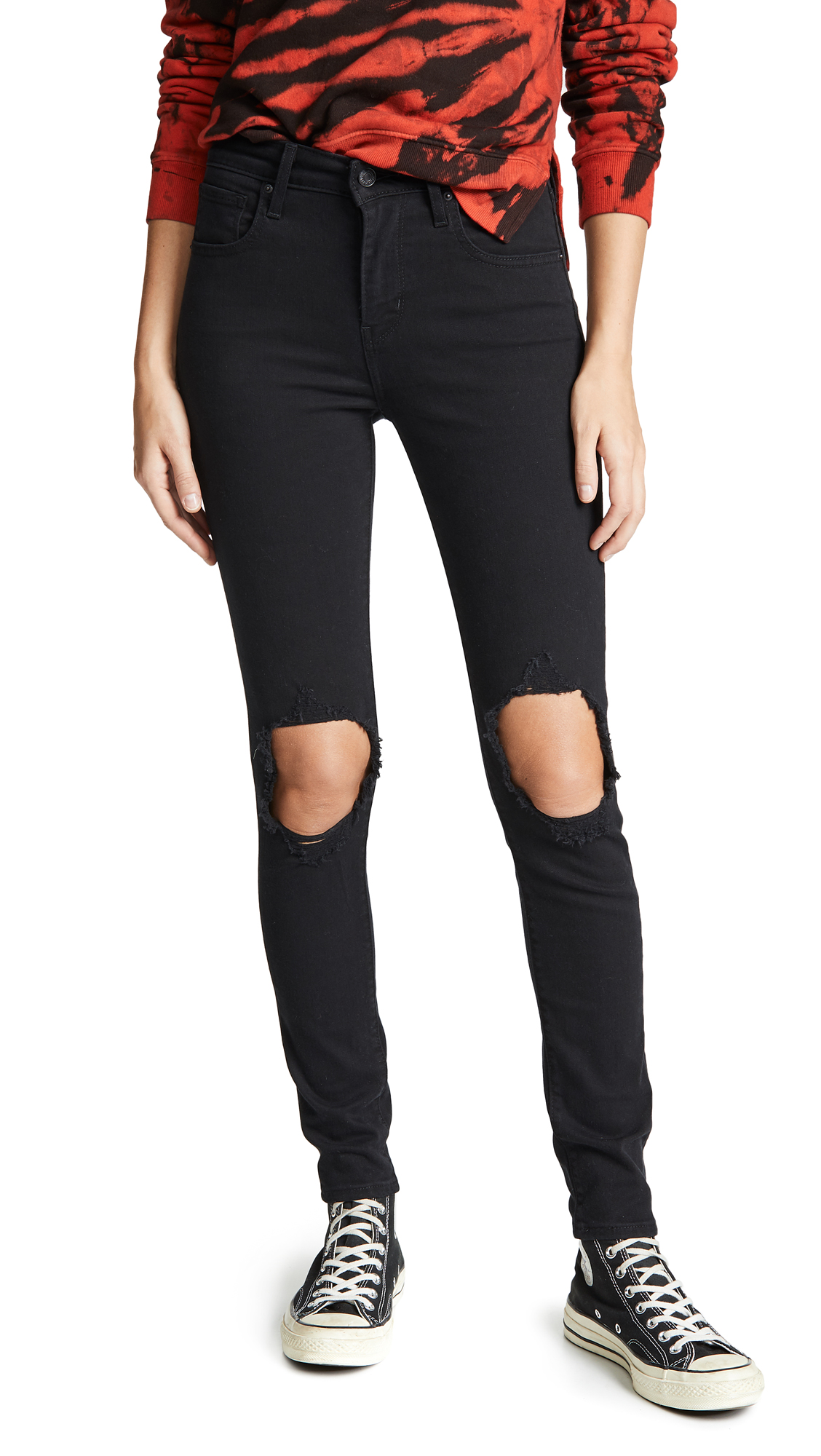 Levis 721 High Rise Skinny Jeans - Looker