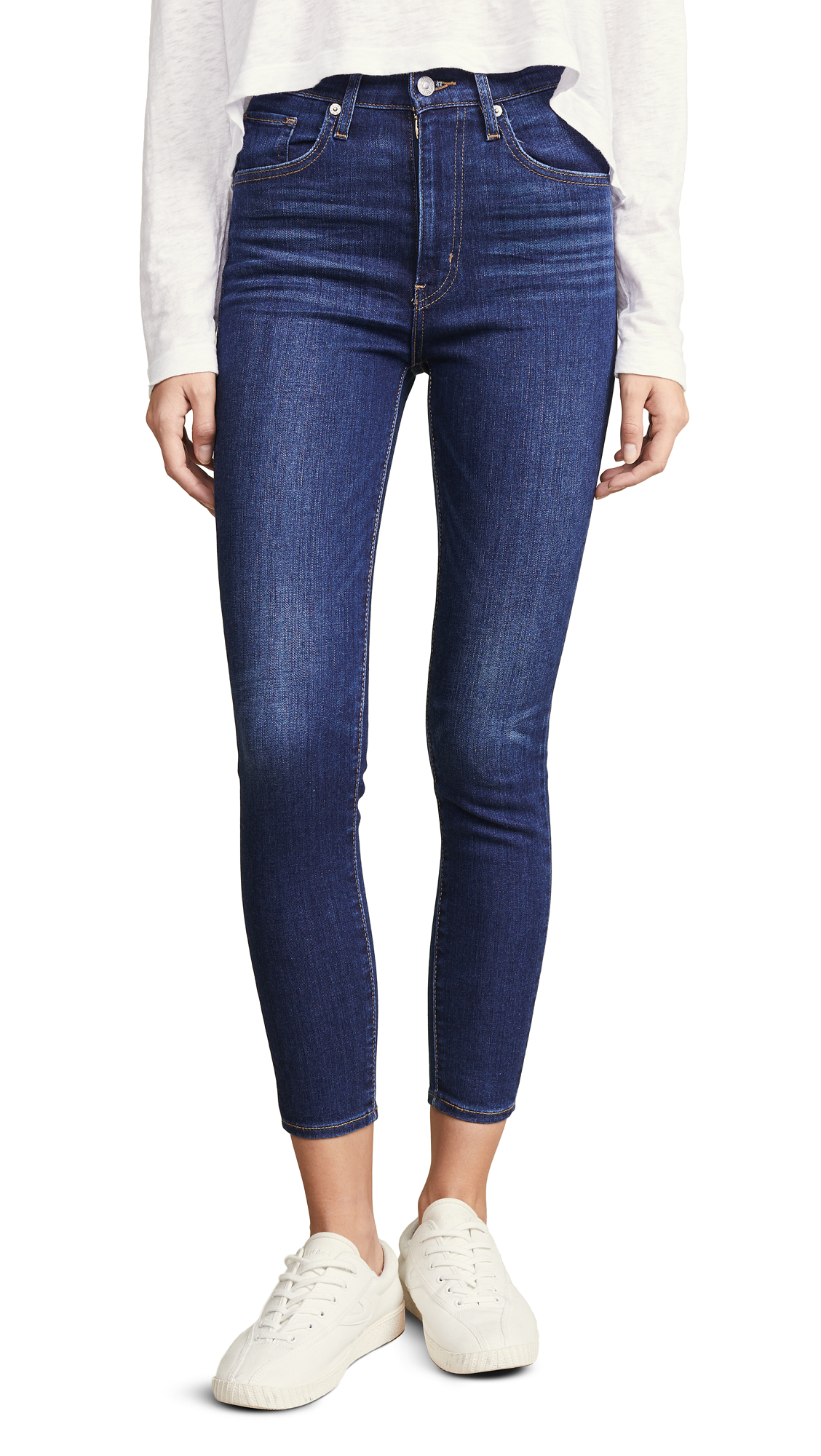 Levis Mile High Ankle Skinny Jeans - And Then Some