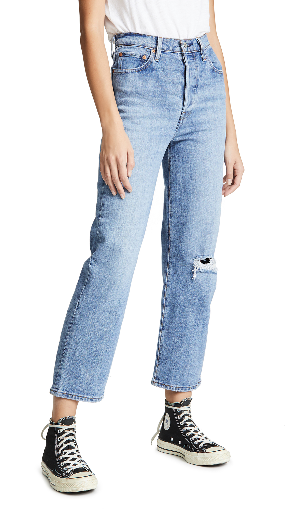 Levis Ribcage Super High Rise Jeans - Haters Gonna Hate
