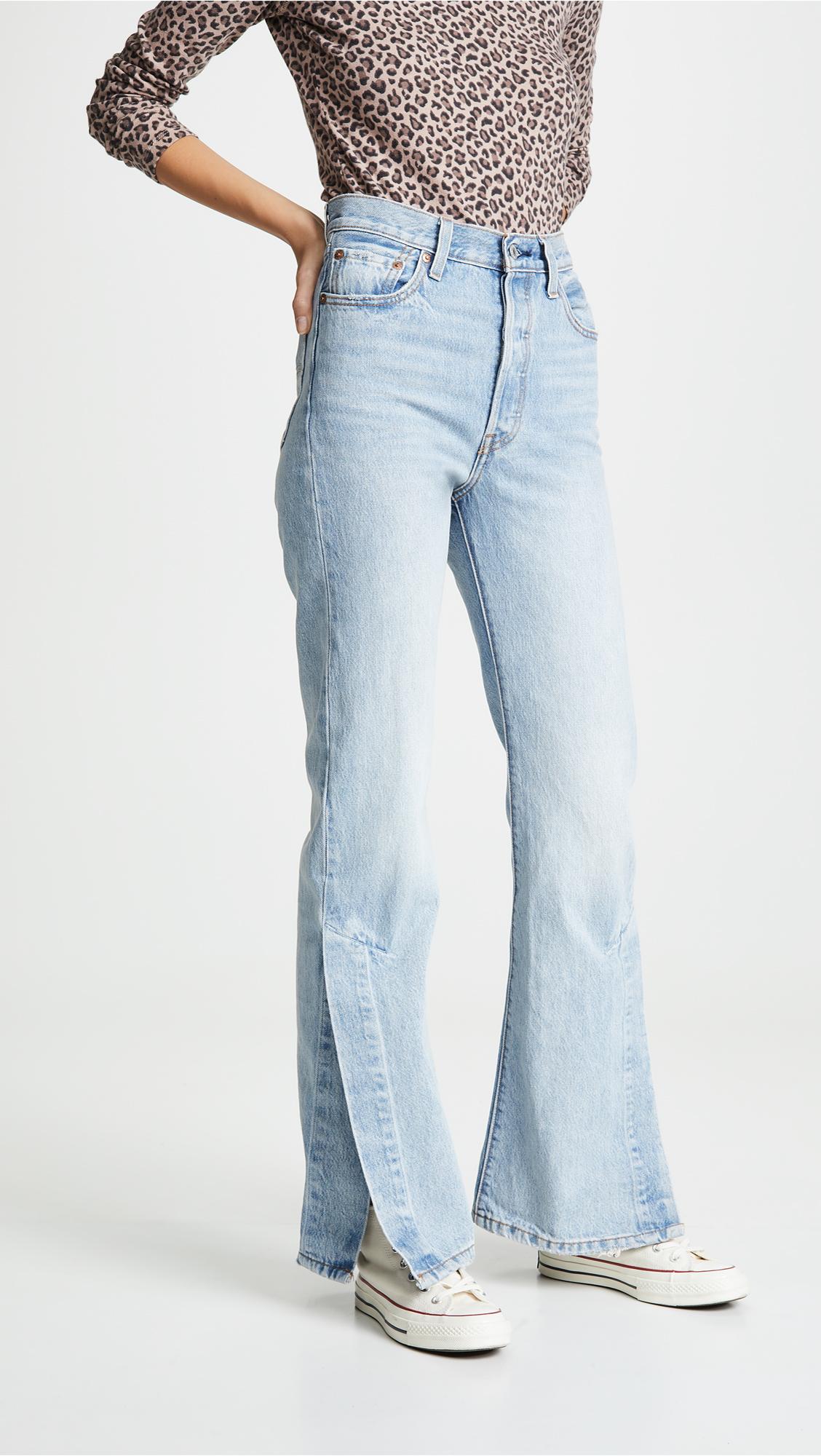 54a6f87ff29230 Levi's Ribcage Split Flare Jeans | SHOPBOP