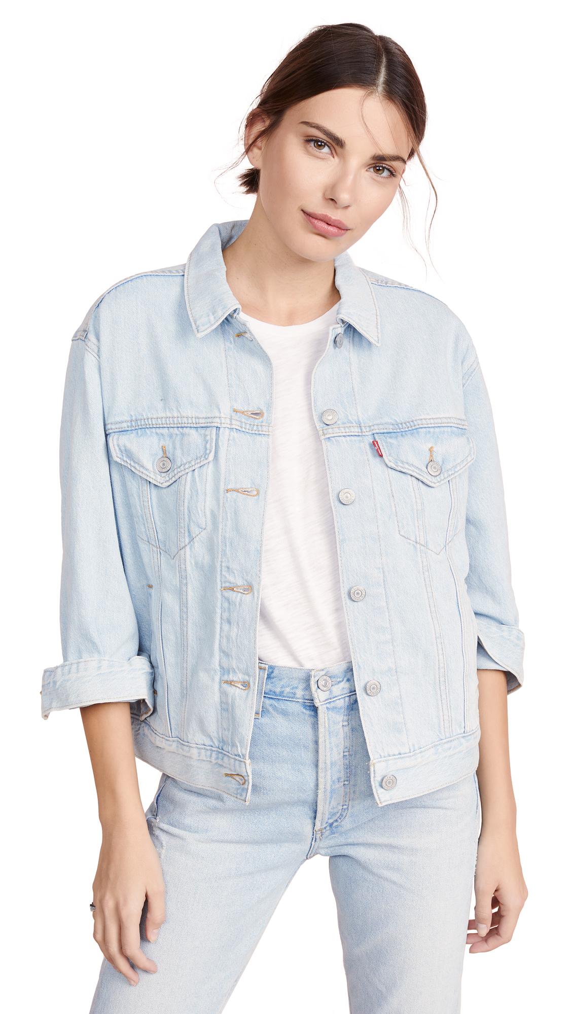 Buy Levi's online - photo of Levi's Ex-Boyfriend Trucker Jacket