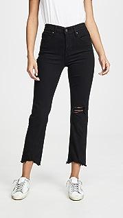 Levi's Прямые укороченные джинсы 724
