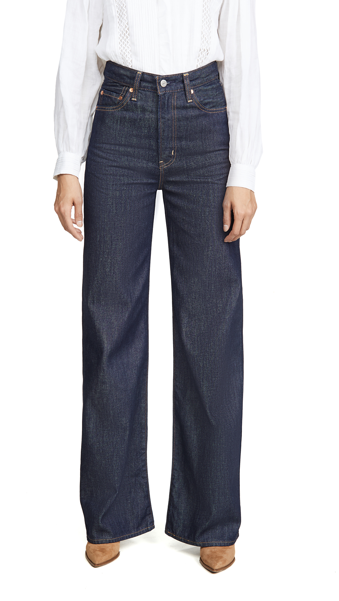 Buy Levi's online - photo of Levi's Ribcage Wide Leg Jeans