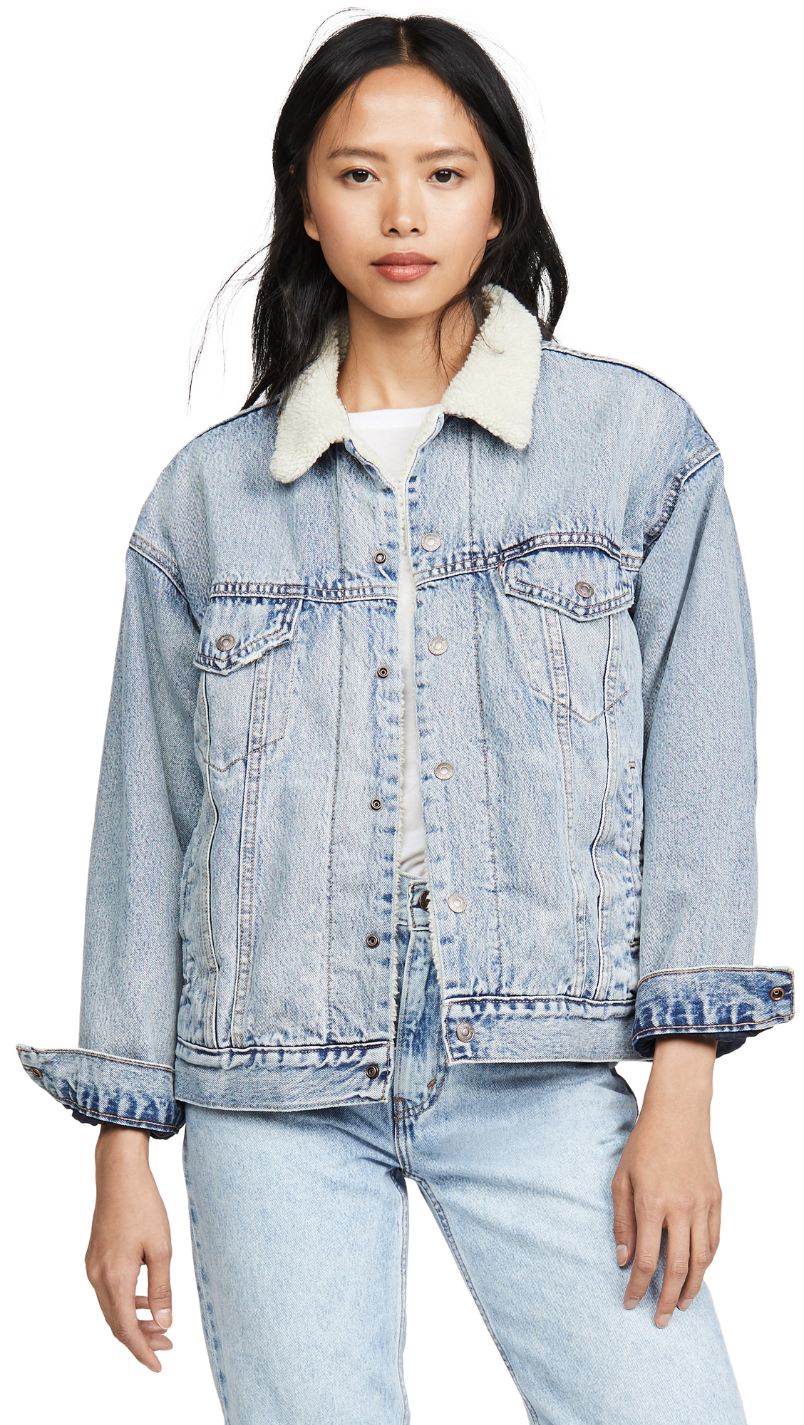 Buy Levi's Dad Sherpa Trucker Jacket online beautiful Levi's Clothing, Jackets