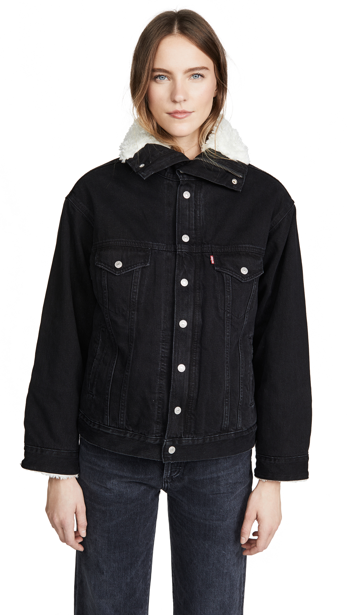 Buy Levi's Dad Sherpa Denim Jacket online beautiful Levi's Clothing, Jackets