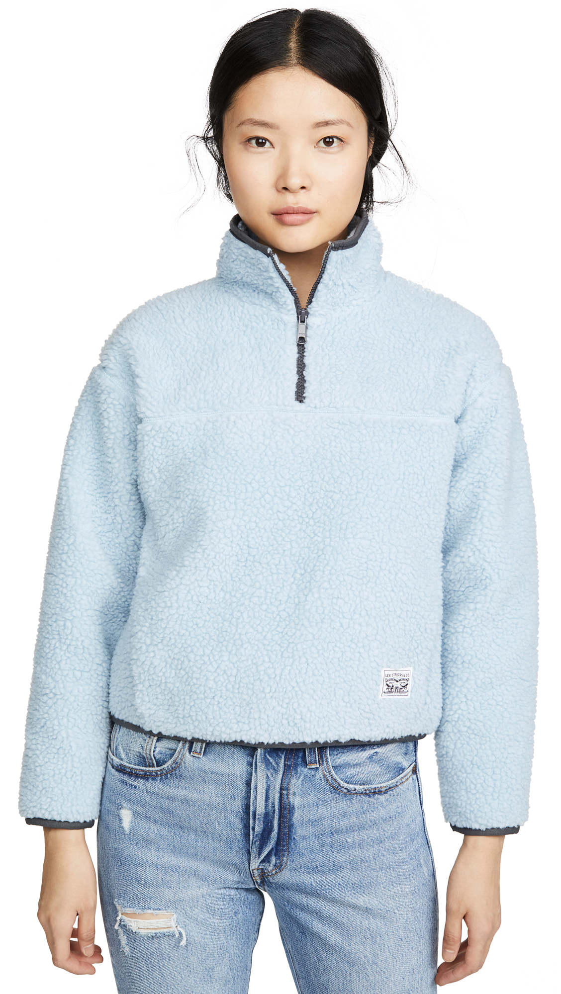 Buy Levi's online - photo of Levi's Sloane Sherpa Pullover