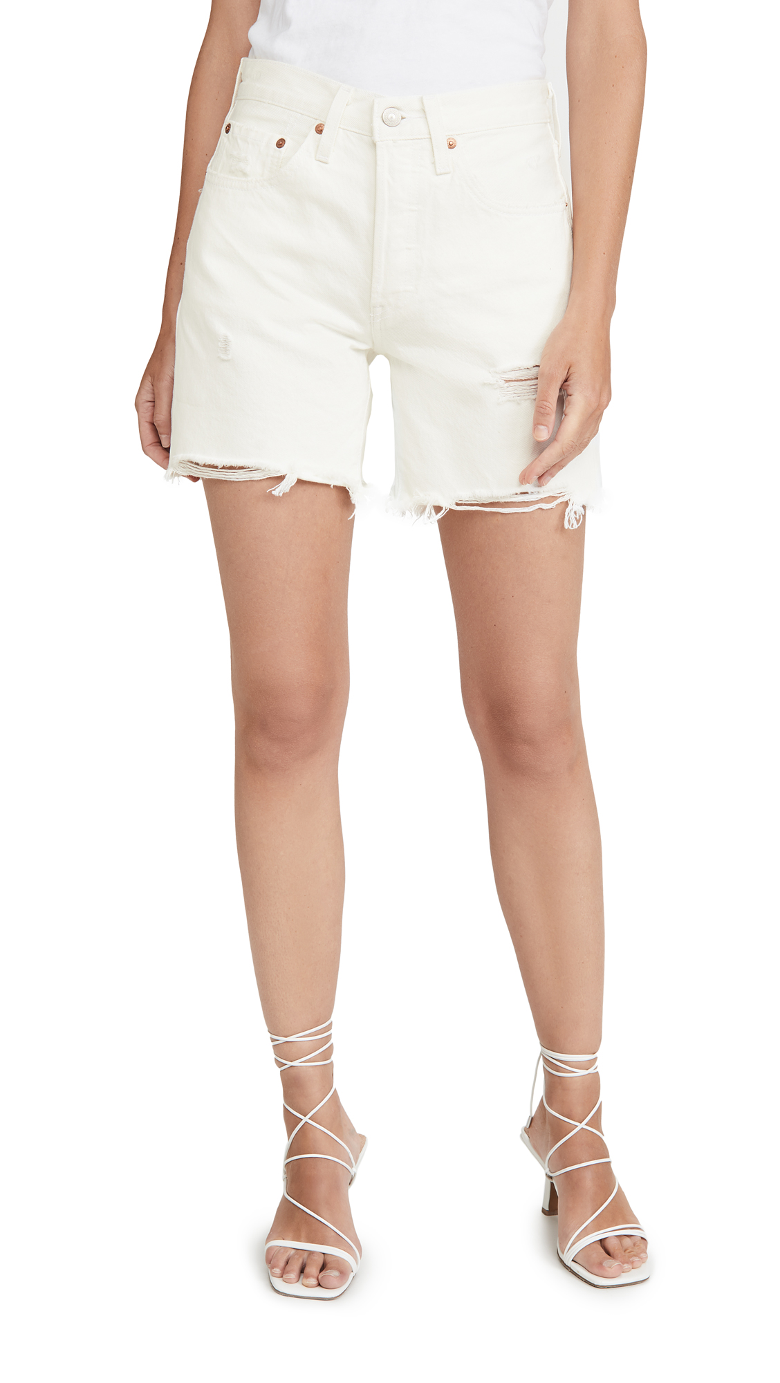 Buy Levi's online - photo of Levi's 501 Mid Thigh Shorts
