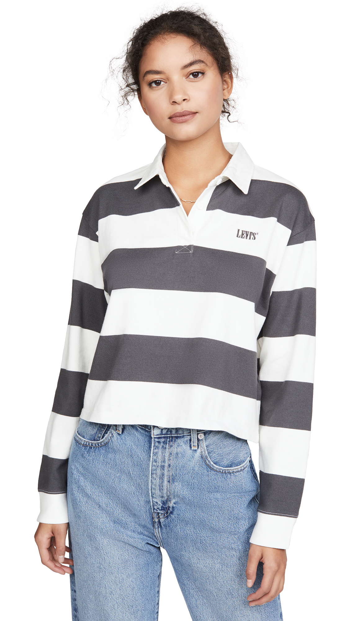 Buy Levi's online - photo of Levi's Letterman Rugby Shirt