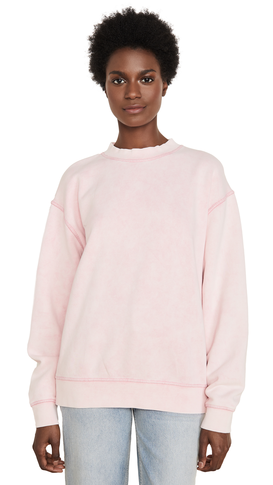 Buy Levi's online - photo of Levi's LMC Oversized Mock Neck Fleece Sweatshirt