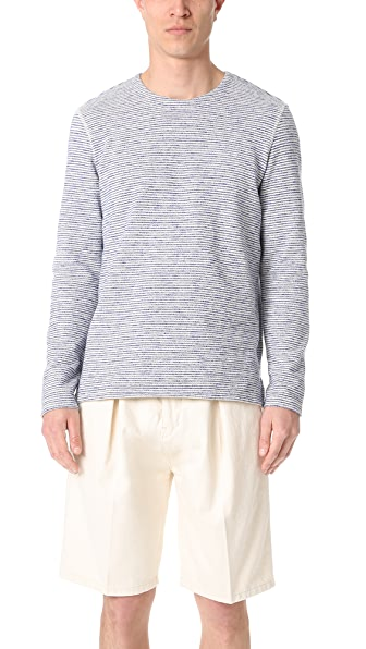 Levi's Made & Crafted Stripe Crew Neck Pullover