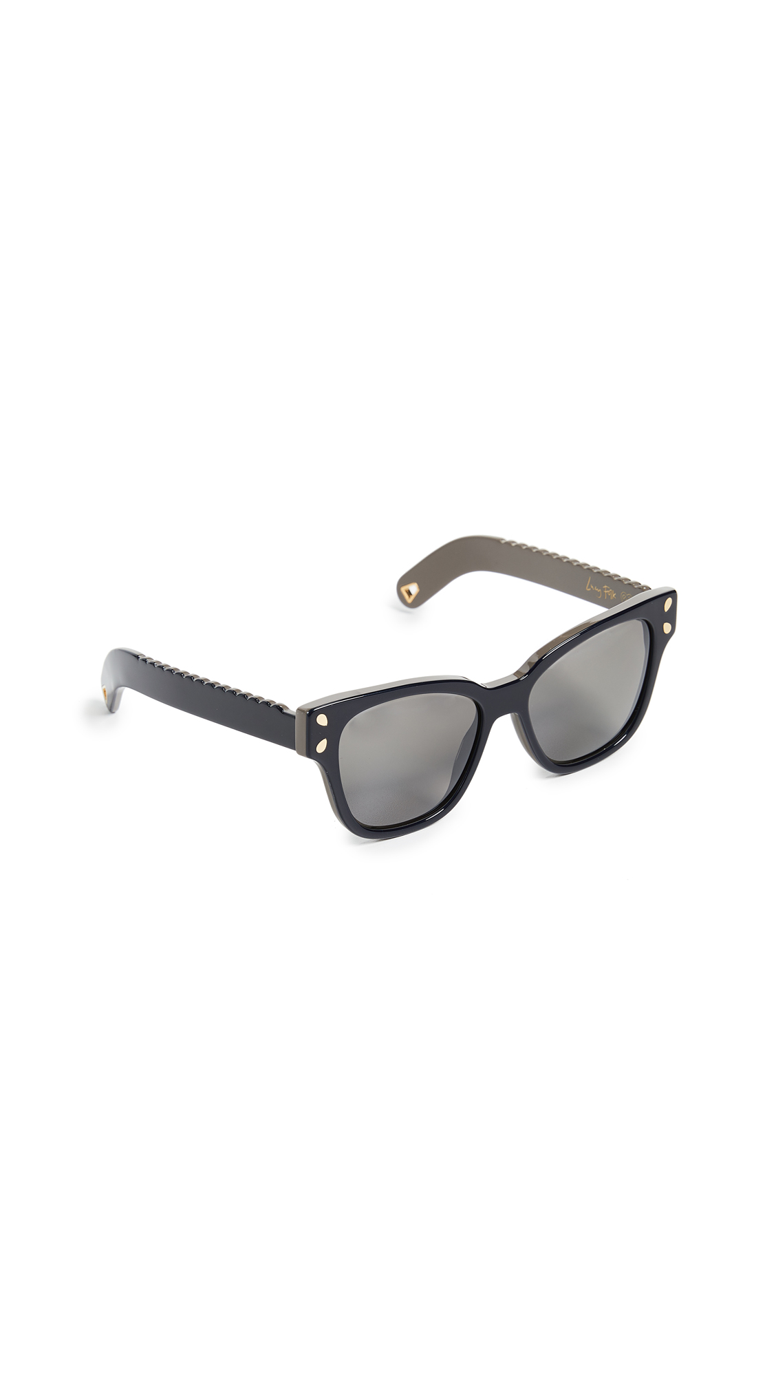 470aa8b058 Lucy Folk Diving For Gold Sunglasses In Blue Mountain