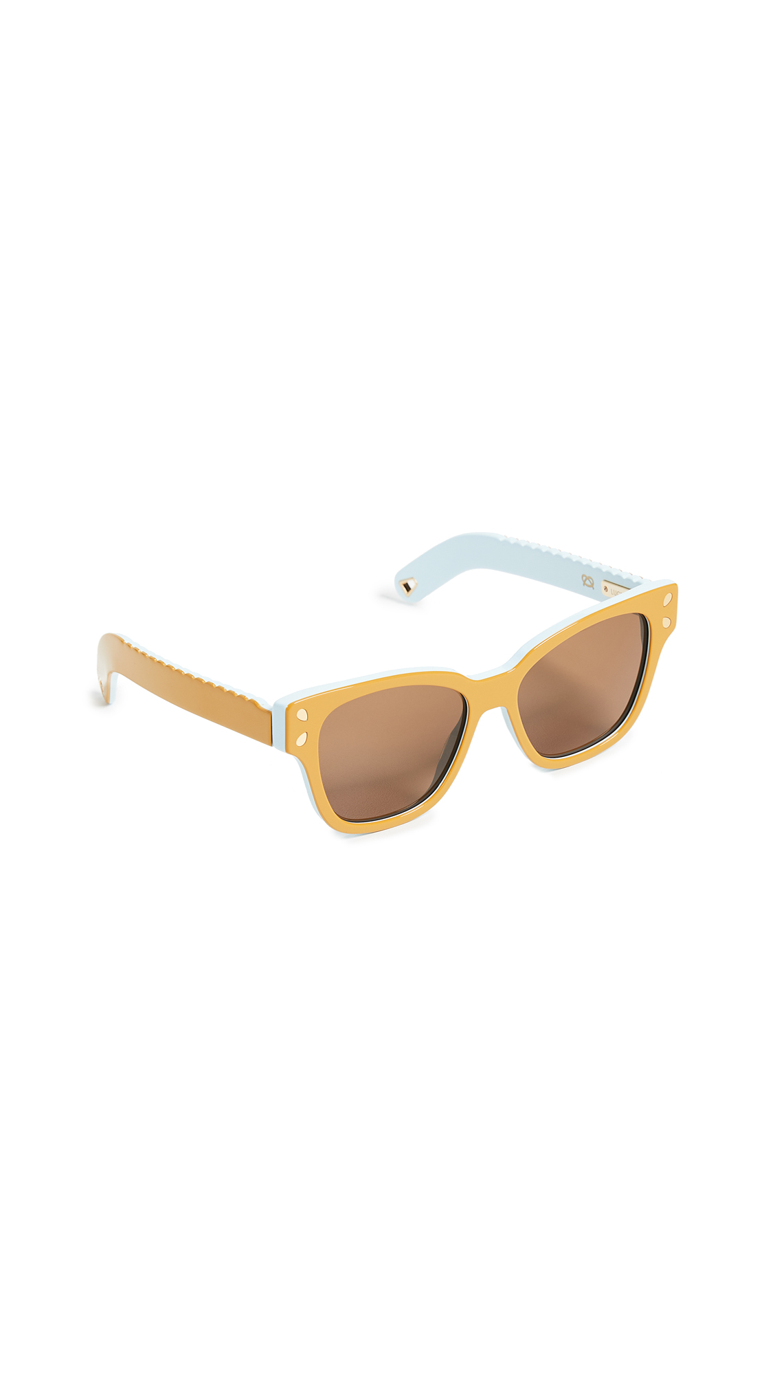 9d6215e59d Lucy Folk Diving For Gold Sunglasses In Tumeric