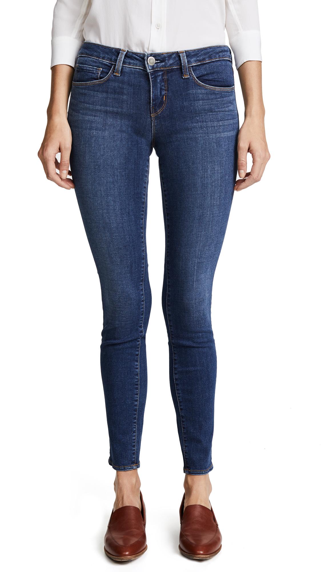 LAGENCE Chantal Skinny Jeans - Dark Vintage