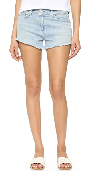 LAGENCE The Perfect Fit Shorts - Powder