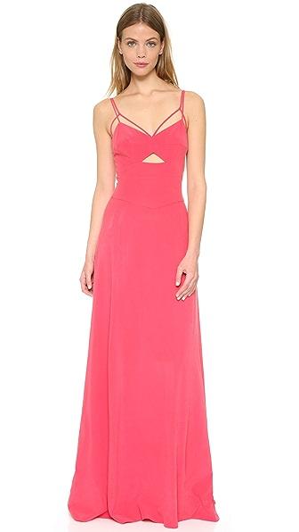L'AGENCE Elsa Cutout Dress
