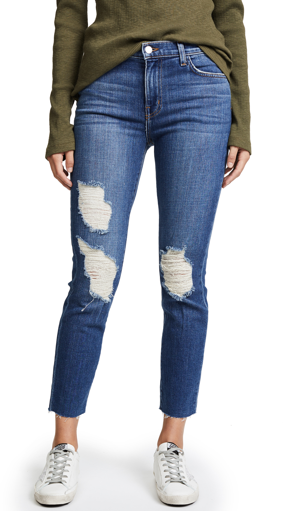 L'AGENCE Marcelle Slim Fit Jeans