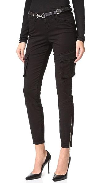L'AGENCE Узкие брюки-карго Montgomery