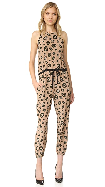 L'AGENCE Cooper Sleeveless Track Jumpsuit