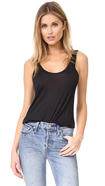 L'AGENCE Perfect Tank In Black