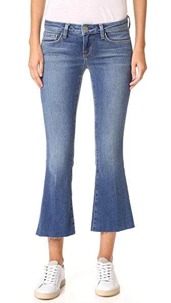 L'AGENCE Charlie Cropped Flare Jeans