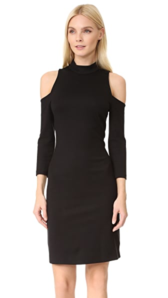 L'AGENCE Nico Cold Shoulder Dress