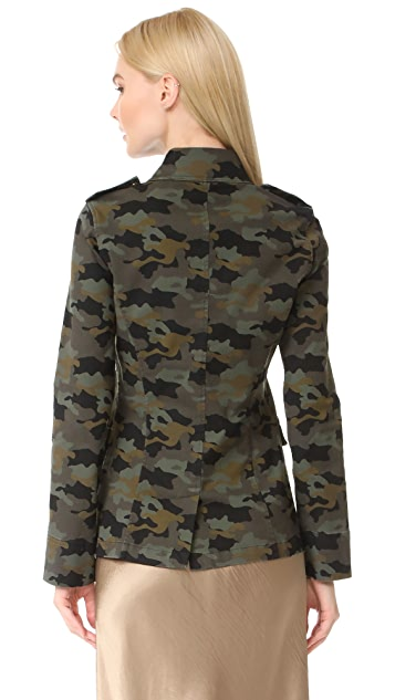 L'AGENCE The Cromwell Military Jacket