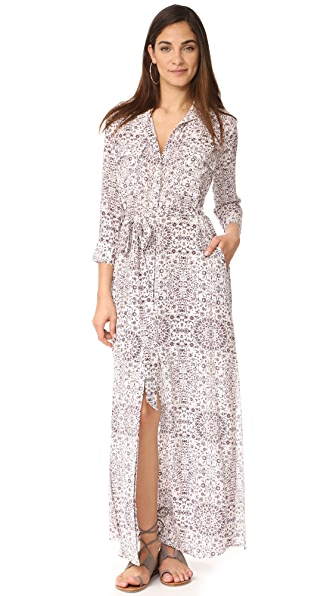 L'AGENCE Cameron Long Shirtdress